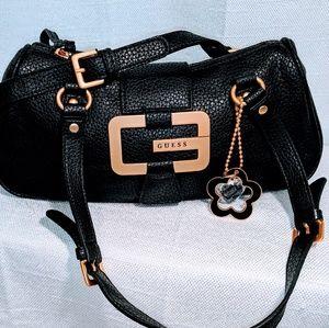 Guess black cross body purse